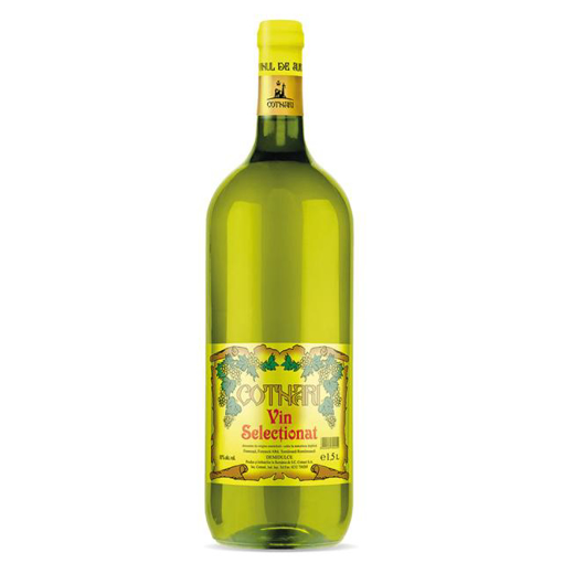 Imagine COTNARI SELECTIONAT VIN ALB DEMIDULCE 1.5 L
