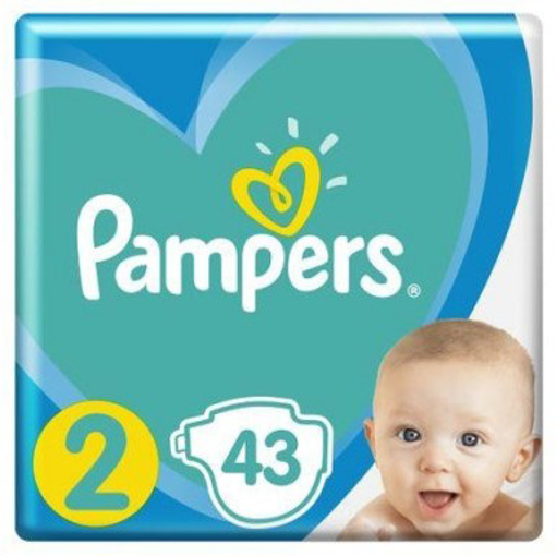 Imagine PAMPERS ACTIVE BABY 2 4-8KG 43 BUC