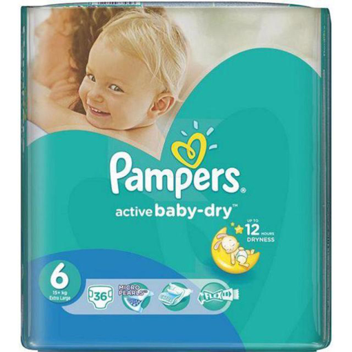 Imagine PAMPERS ACTIVE BABY 6 13-18KG 36 BUC