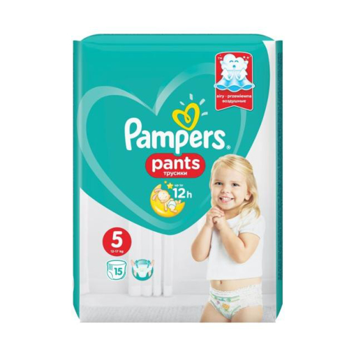 Imagine PAMPERS PANTS BABY NR 5 15BUC