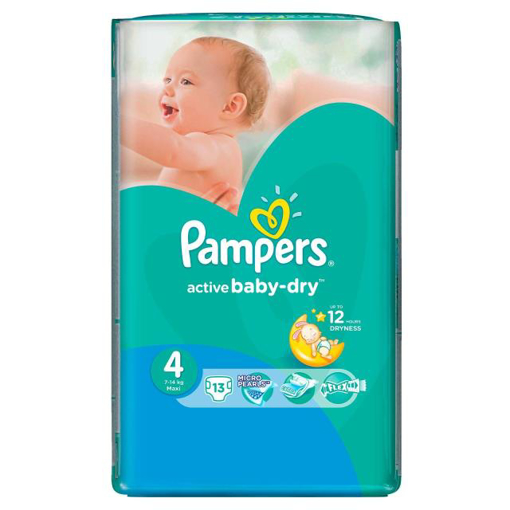 Imagine PAMPERS SCUTECE BABY NR 4 13 BUC