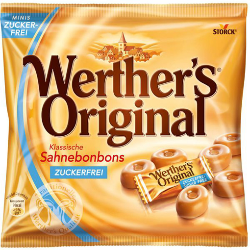 Imagine WERTHERS DROPSURI FARA ZAHAR 70G