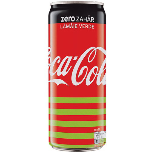 Imagine COCA COLA ZERO LIME DOZA 330ML