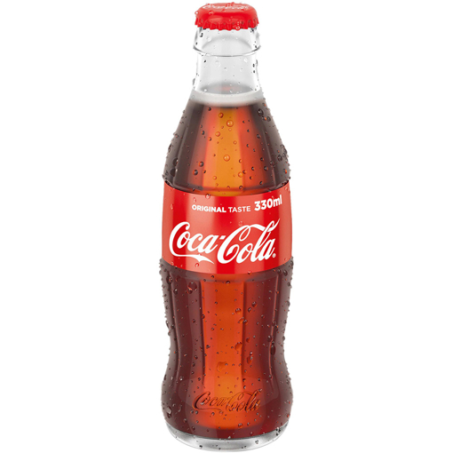 Imagine COCA COLA STICLA 330 ML
